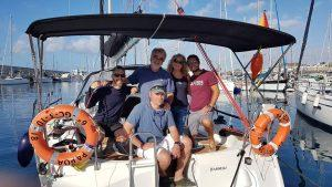 RYA Yachtmaster Offshore Certificate students